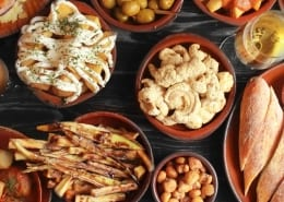 Ole Tapas in Bath Dishes