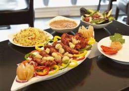 Kiplings Restaurant various dishes